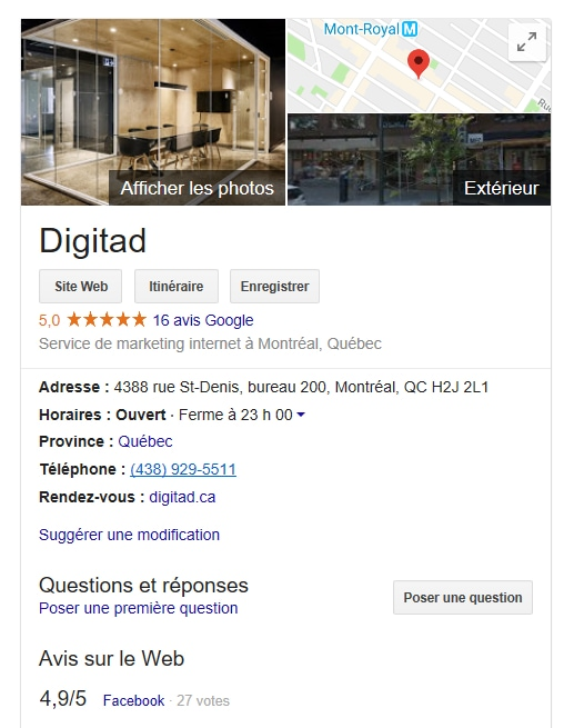 comment optimiser son SEO local avec google my business