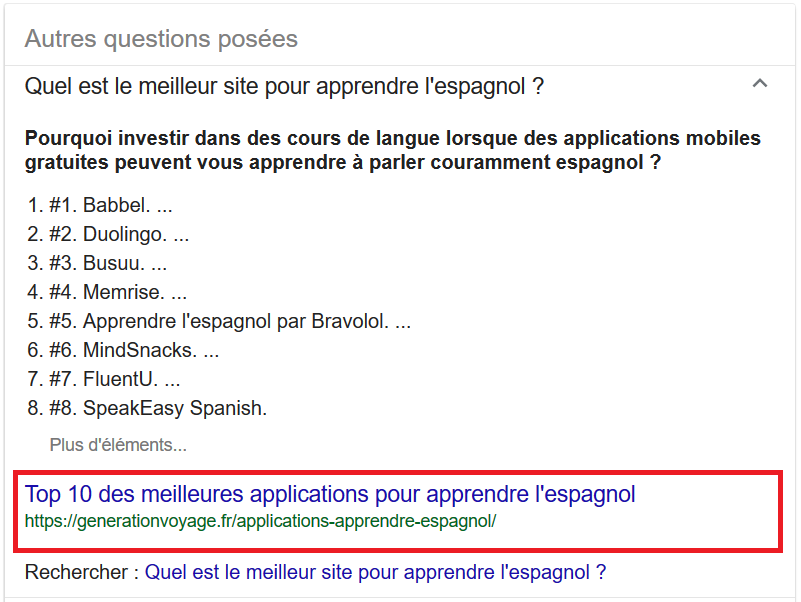 avantage de l analyse semantique pour featured snippets