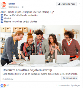 Comment capter l'attention de mon client sur Facebook?