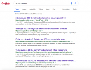 Quelles techniques SEO en growth hacking?