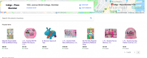 Comment créer un catalogue sur google my business?